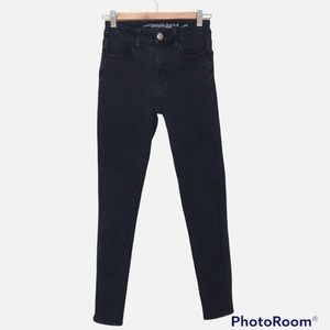 American Eagle Outfitters Hi-Rise Jegging Muted Black